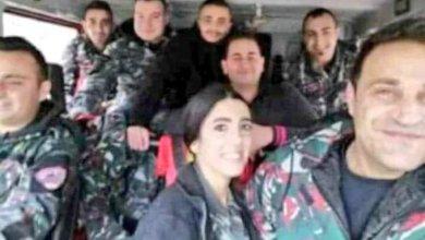 Photo of صورة أخيرة لفريق إطفاء بيروت: ضحايا الجريمة المزدوجة