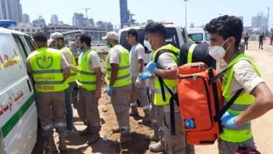Photo of جمعية الرسالة للاسعاف الصحي: 38 سيارة اسعاف و155 مسعفا شاركوا بعمليات الامس في بيروت