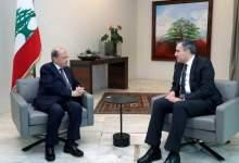 صورة اديب أبلغ الرئيس عون أنه سيزوره غدا لمناقشة نتائج اجتماعه بالخليلين