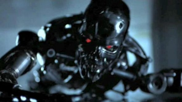 The robot from The Terminator that haunted my dreams as a kid.
