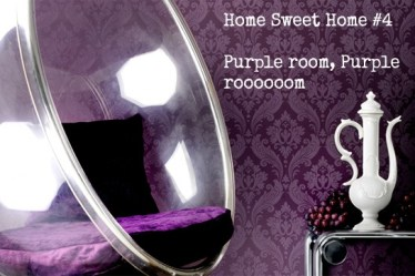 Home Sweet Home #4 : Purple room, Purple roooooom