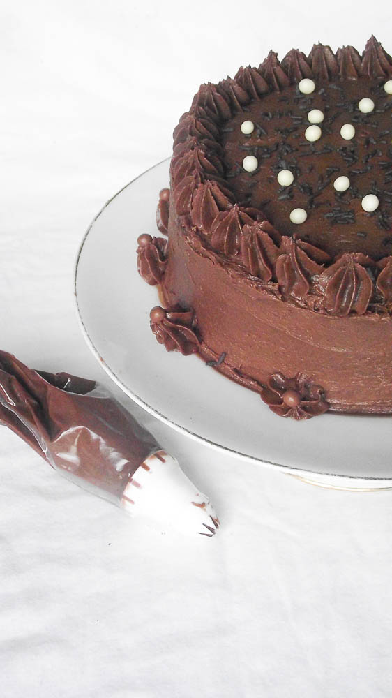 Le cake Mocha Chocalata Ya Ya