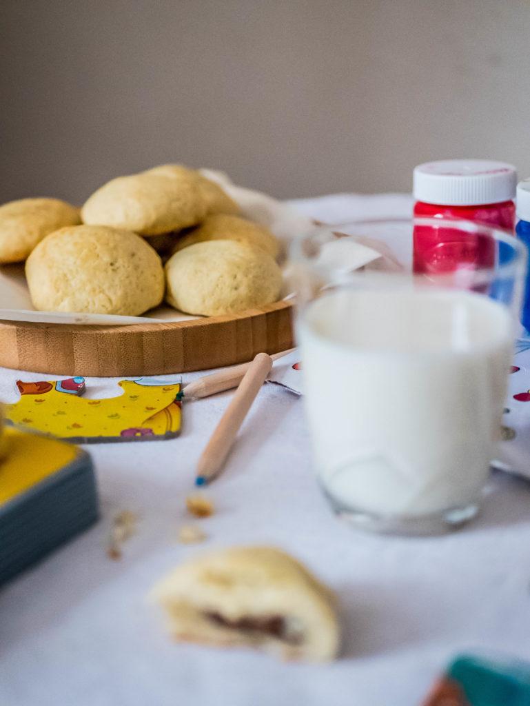 Biscuits fourrés au chocolat praliné - Wadji, Cooking Mama