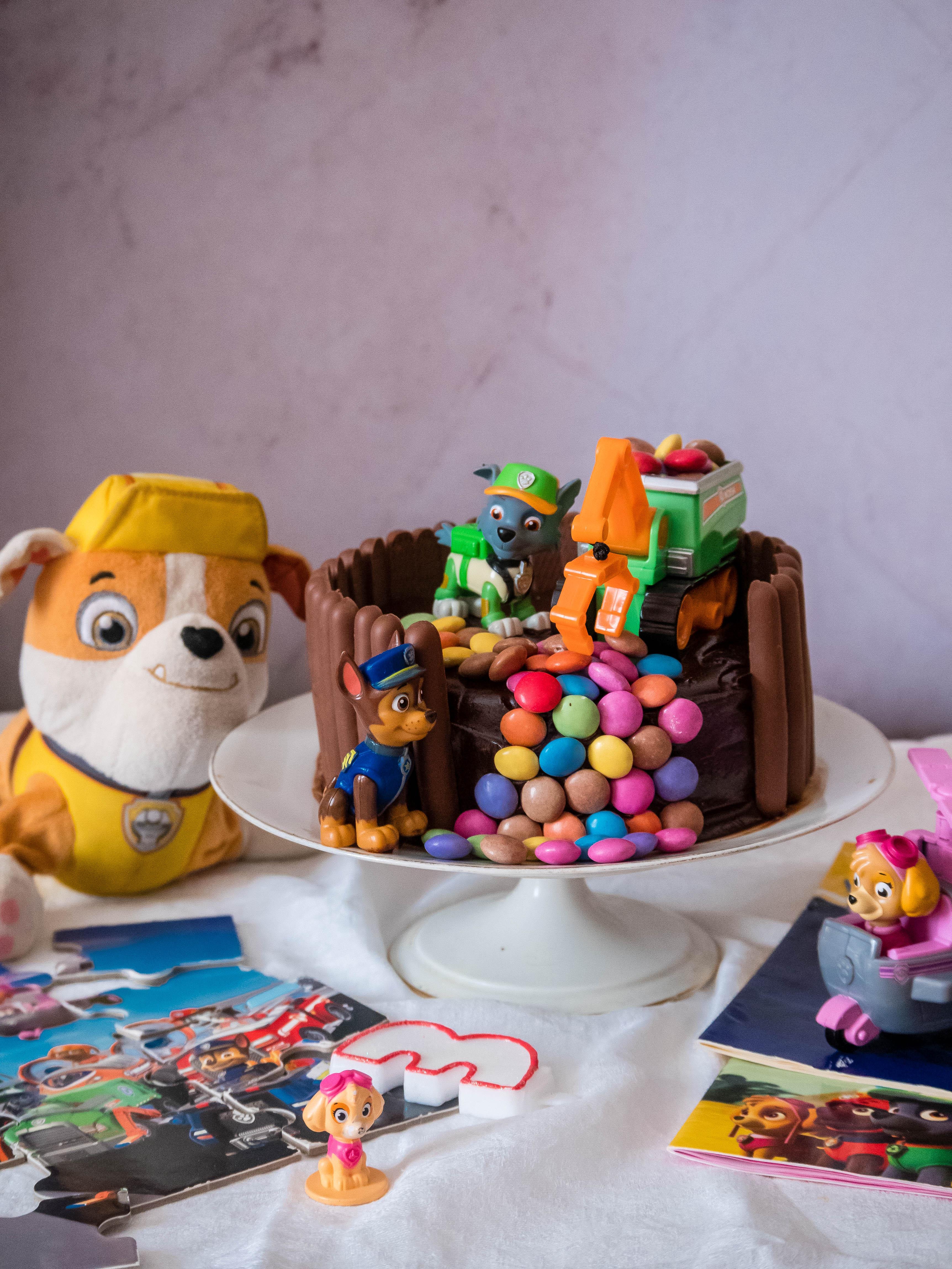 Le gâteau d'anniversaire Pat Patrouille
