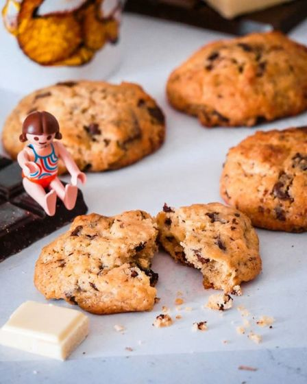 Cookies aux 3 chocolats - Wadji, Cooking Mama