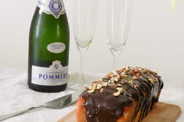 Cake marbré chocolat noisettes-Wadji, Cooking Mama