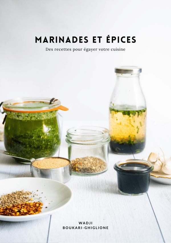 Ebook - Epices et marinades par Wadji Boukari-Ghiglione
