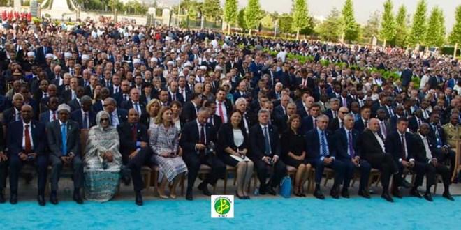 ولد عبد العزيز وحرمه يحضران بأنقره حفل تنصيب أوردوغان
