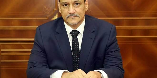 ولد الشيخ أحمد يعزي مصر باسم رئيس البلاد