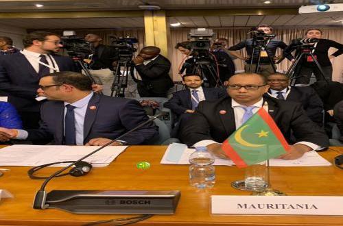 ولد اسويد أحمد يمثل موريتانيا في اجتماع قاري بروما