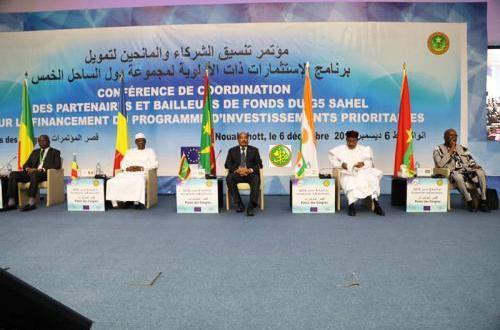 قمة لرؤساء دول الساحل الخمس بالعاصمة الموريتانية