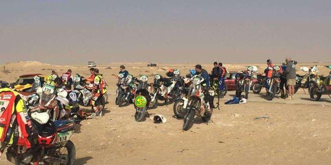 مئات الرياضيين من عشرات الجنسيات يعبرون ولاية اترارزة