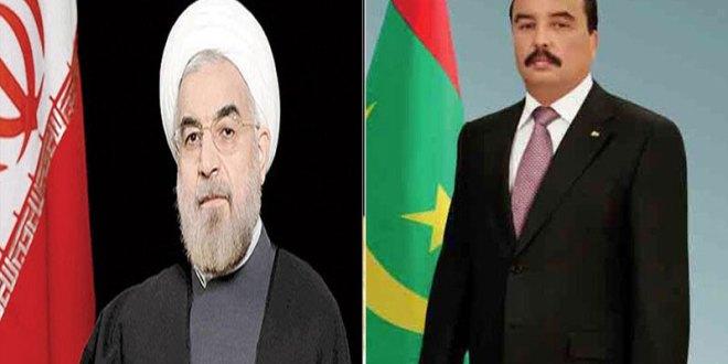 الرئيس يعبر عن حرصه على توطيد العلاقات مع إيران