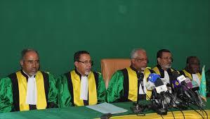 المجلس الدستوري:  غزواني فاز في الشوط الأول بنسبة 52%