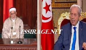 محمد الناصر رئيسا لتونس ومورو رئيسا لمجلس النواب بعد وفاة السبسي