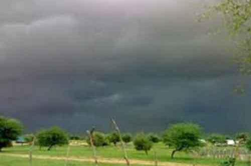 """أمطار على مناطق مختلفة من ولاية اترارزة """"مقاييس"""""""