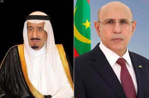 الرئيس غزواني يهاتف الملك سلمان حول كورونا