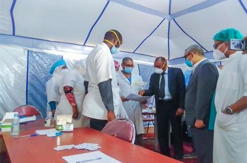 ولد الزحاف من روصو: نخطط للتعايش مع فيروس كورونا