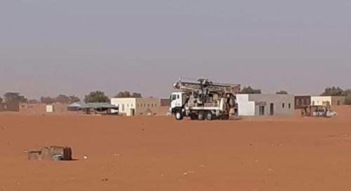 خزان بسعة 200 طن لصالح قرية في اترارزة