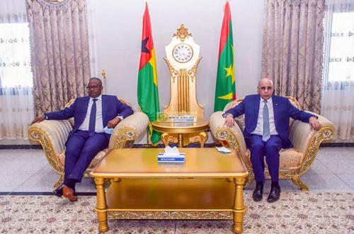 رئيس غينيا بيساو يواصل زيارته لموريتانيا