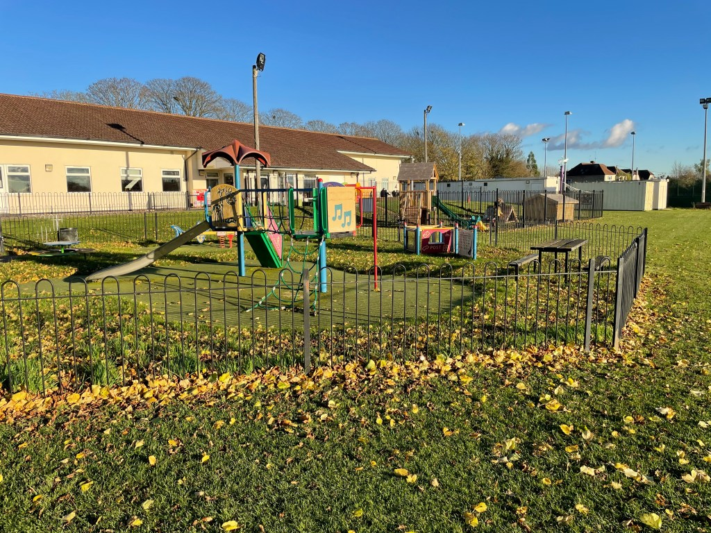 Kids playgrounds and preschool