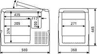 Waeco Coolfreeze CF-40 Cool Box Freezer UK