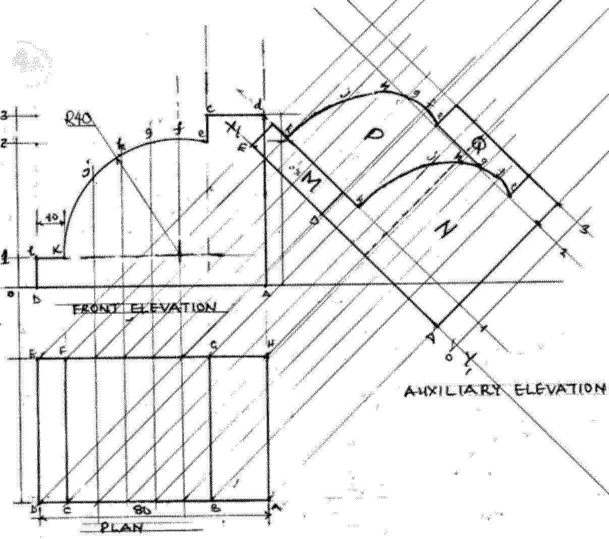 Technical Drawing Paper 1, May/June 2011