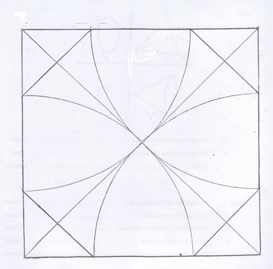 Technical Drawing Paper 2, May/June 2013