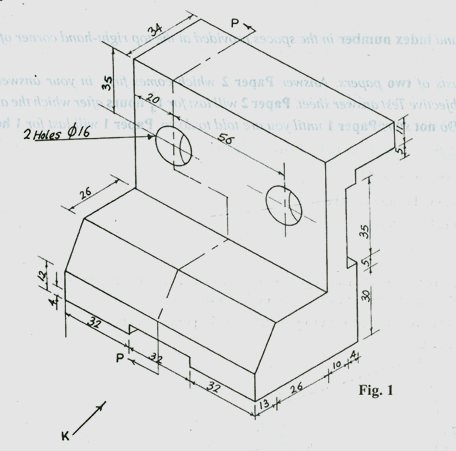 Technical Drawing Paper 2, May/June 2014