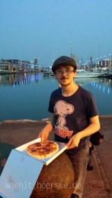 Durchaus leckere Pizza