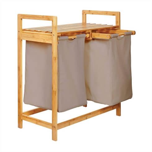 Lumaland Bambus Wäschesammler