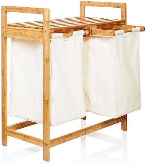 Wäschesammler 2 Fächer - Lumaland 20057