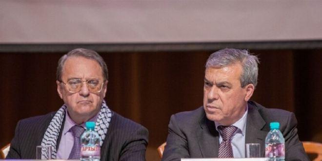 بوغدانوف يبحث مع سفير فلسطين لدى موسكو التسوية الفلسطينية الإسرائيلية