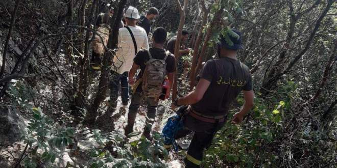 إنقاذ مواطنين ضلوا طريقهم في أحد أحراج ساحل علما شننعير