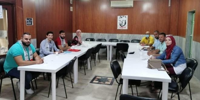 لقاء تربوي بين التنظيم الشعبي وفتح: لتأمين مقاعد للفلسطينيين في المدارس الرسمية