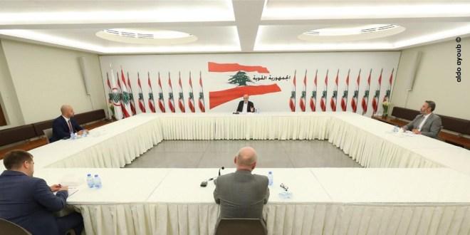 جعجع التقى سفير جمهوريّة ألمانيا الإتحاديّة في لبنان