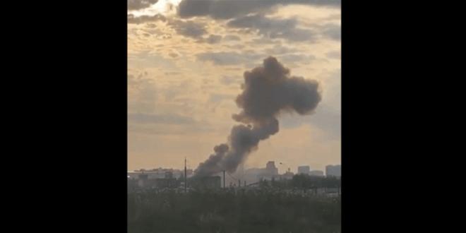 انفجار قوي يهز مصنعا في ضواحي موسكو