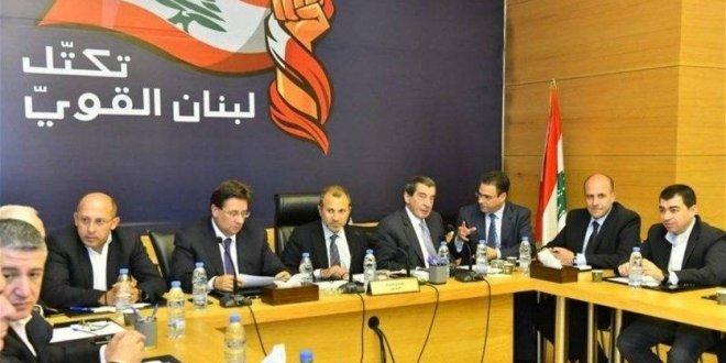 """""""لبنان القوي"""" رأى في بيان الحريري تجاوزاً للآليات الدستورية الخاصة بتشكيل الحكومة"""
