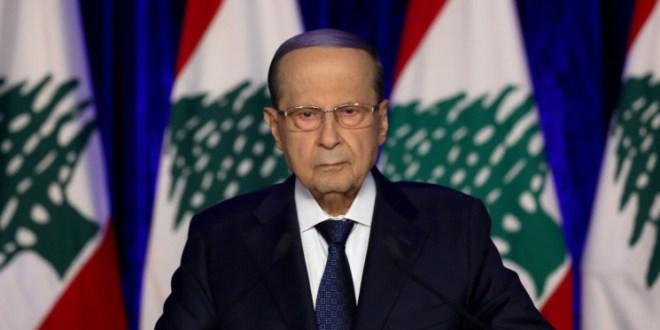 عون: متمسك بالمبادرة الفرنسية