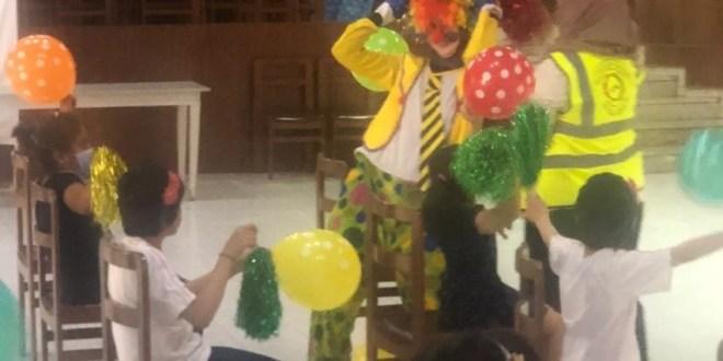 أنشطة ترفيهية لاطفال دار اليتيم في صيدا احتفاء بذكرى مولد الرسول