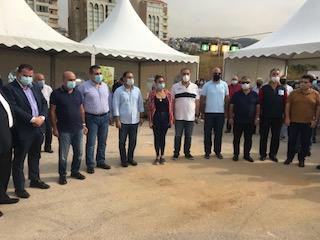 التيار الوطني في جبيل يطلق معرض المنتجات الزراعية البلدية