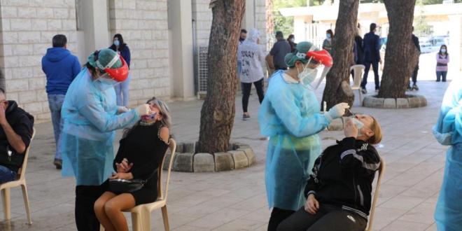 70 حالة ايجابية في زحلة ضاهر: للتشدد في التزام الوقاية خصوصا في فترة الأعياد