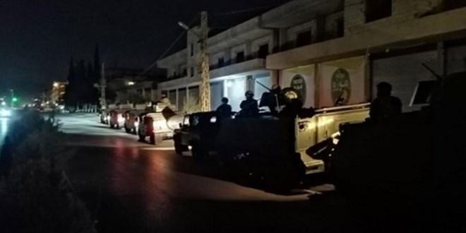 بعد الاشتباكات.. الجيش يلاحق مطلقي النار في حي الشراونة