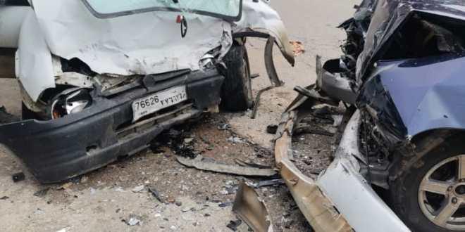 3 جرحى بحادث سير مروع على طريق عام عدشيت