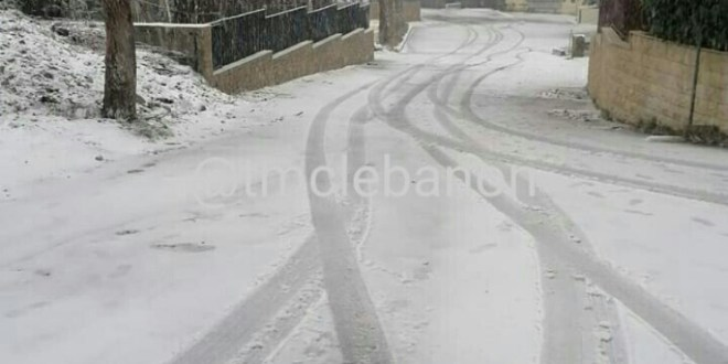 إليكم حال الطرقات الجبلية اليوم