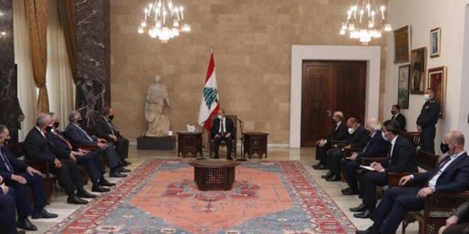 عون استقبل رئيس الجامعة اللبنانية الثقافية في العالم