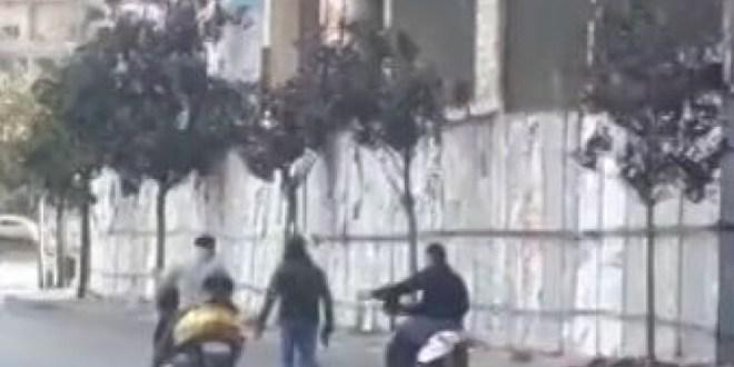 بالفيديو- إطلاق نار في ساحة الشهدء.. ماذا حصل؟
