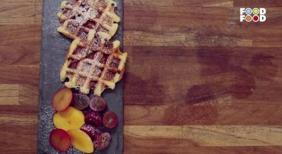 Eggless Waffles | Snack Time | Chef Amrita Raichand | FoodFood
