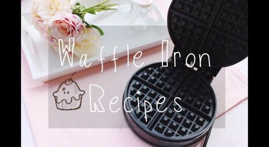 4 Waffeleisen Rezepte - Waffle Iron Recipes | Hue Chi