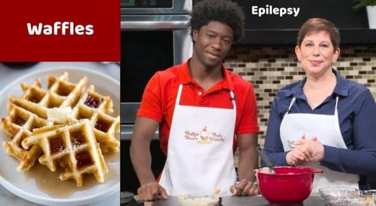 Gluten Free Waffles - Seizure Disorder